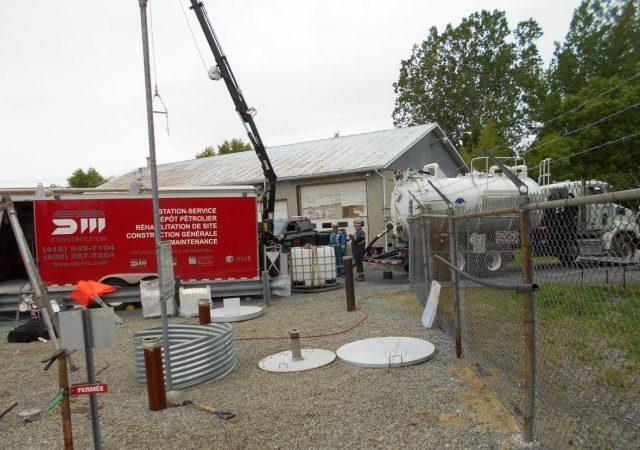 Inspection de site et nettoyage de 35 séparateurs dans la province de Québec