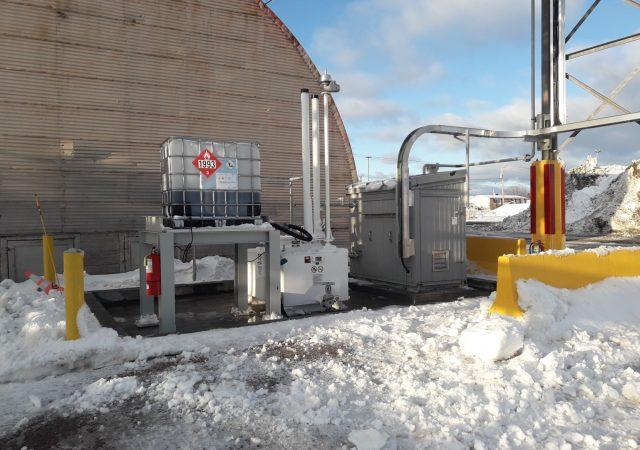 Système complet pour gérer l'injection d'un additif au diesel