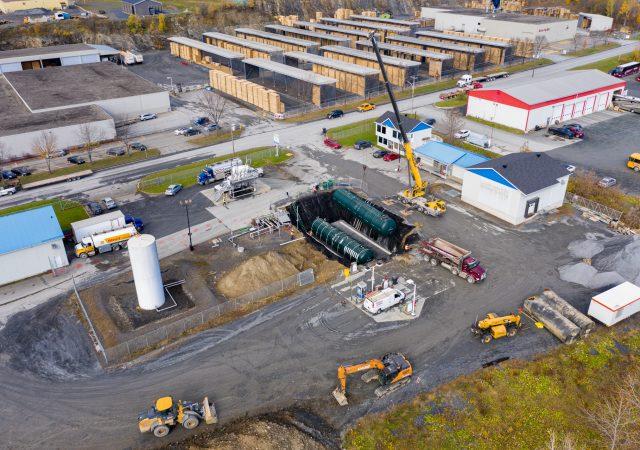 Projet de modernisation d'un dépôt pétrolier pour SM